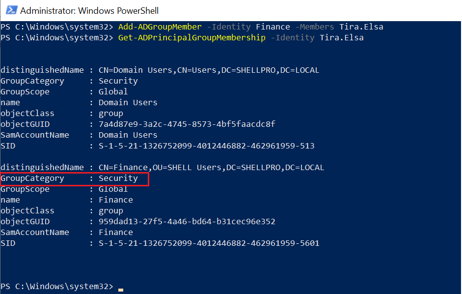 Add User Accounts to AD Groups - PowerShell